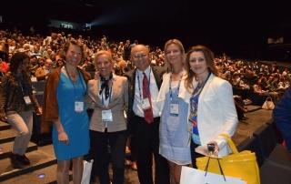 sa dr Chris Chang i dr Elisabeth Menzel-Damon forum Barcelona
