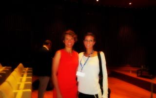 dr Elisabeth Menzel i dr Tatjana Jelenić Krečković-Damon kongres Milano