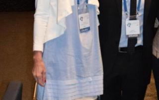 dr Tatjana Jelenic Kreckovic with dr Ramon Perera