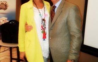 dr Tatjana Jelenic Kreckovic with dr Alan Bagden