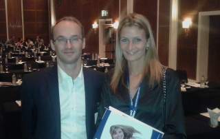 With Xavier Cherbavaz-Damon Symposium Dubai