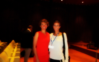 With dr Elisabeth Menzel-Il primo congresso Damon-Italy