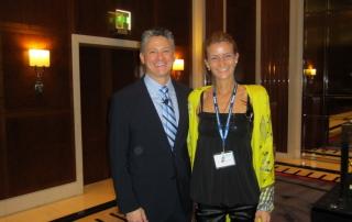 With dr John Graham-Ormco symposium Dubai